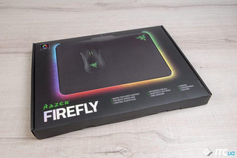 Экспресс-обзор игровой поверхности Razer Firefly