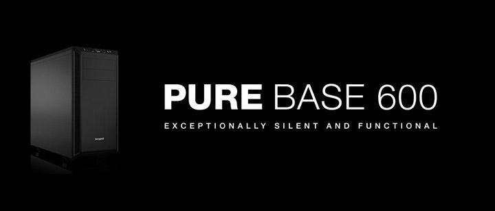 Обзор корпуса be quiet! Pure Base 600