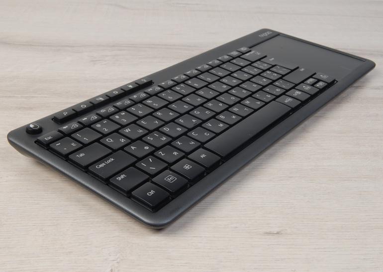 Обзор беспроводной клавиатуры с тачпадом Rapoo K2600