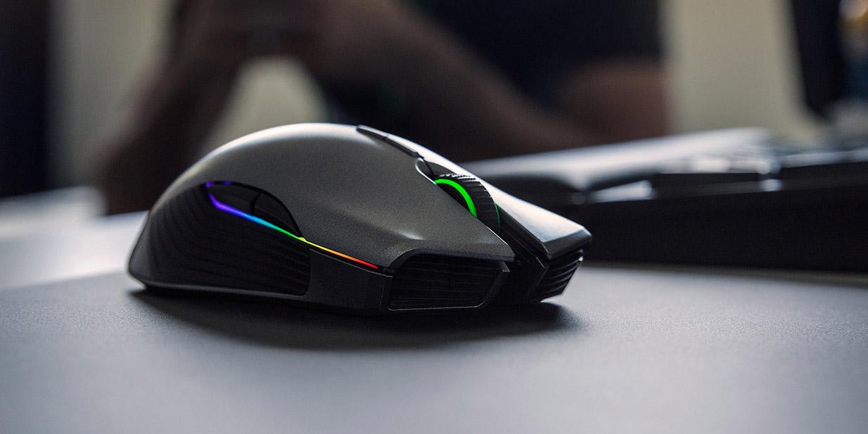 Razer представялет беспроводную игровую мышь Razer Lancehead