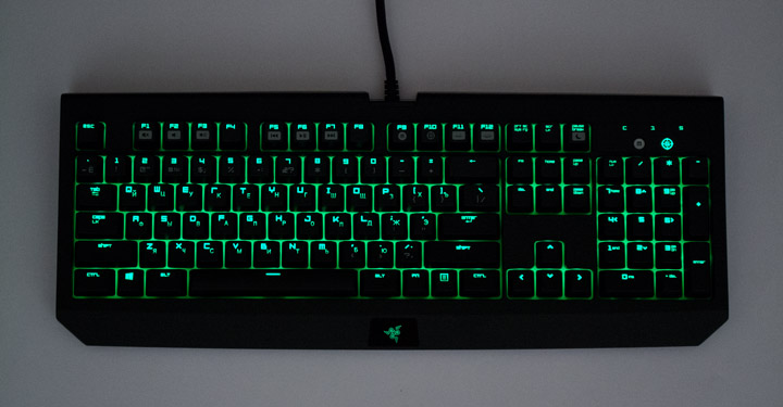 Обзор клавиатуры Razer BlackWidow Ultimate 2016