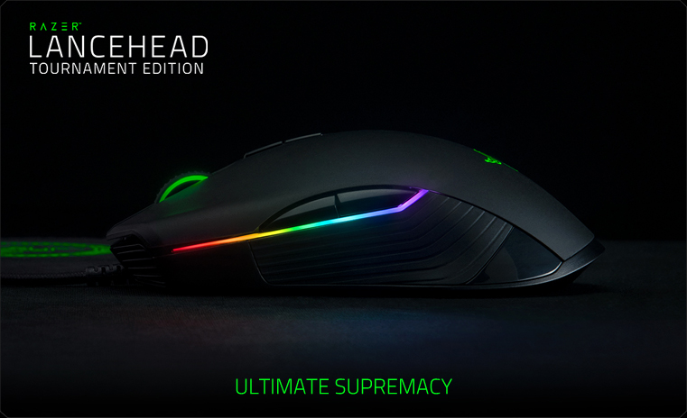 Обзор игровой мыши Razer Lancehead Tournament Edition