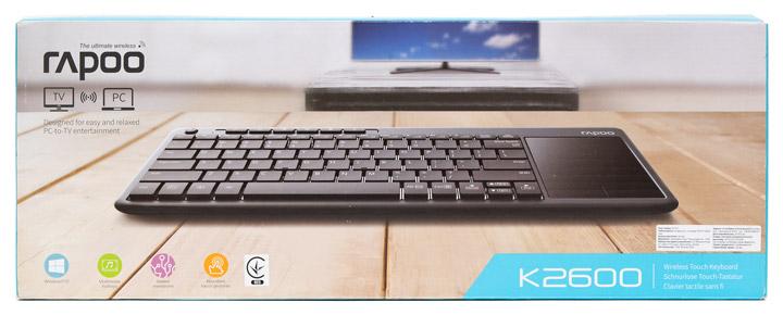 Обзор Rapoo K2600
