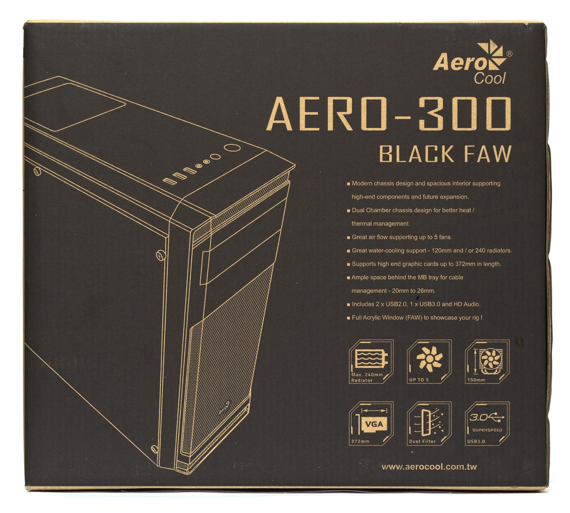 Aerocool Aero-300 упаковка