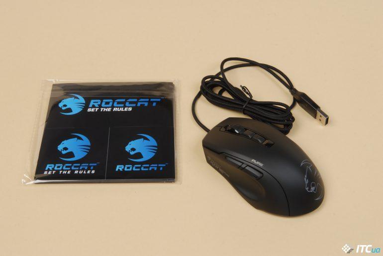 ROCCAT Kone Pure Owl-Eye комплект поставки