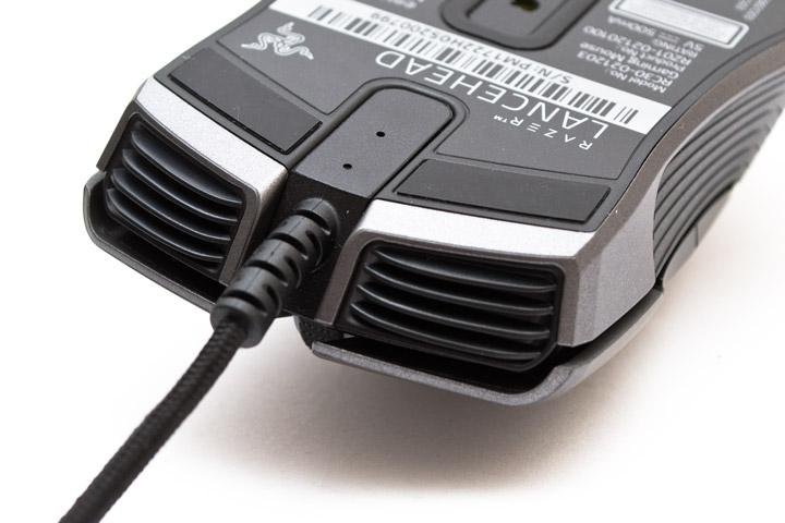 Razer Lancehead подключение сигнального кабеля