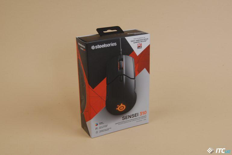 Упаковка steelSeries Rival 310
