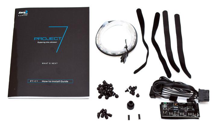 Aerocool P7-C1 комплект поставки