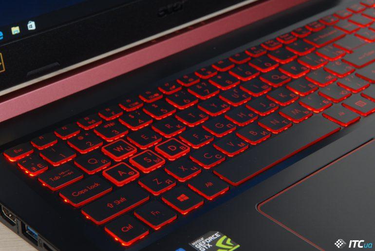 Acer Nitro 5 клавиатура