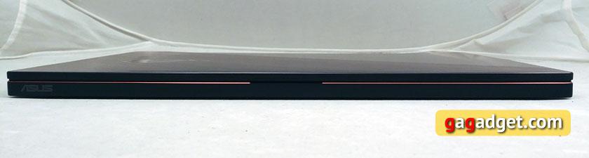 ASUS ROG Zephyrus GX501 вид спереди в закрытом состоянии