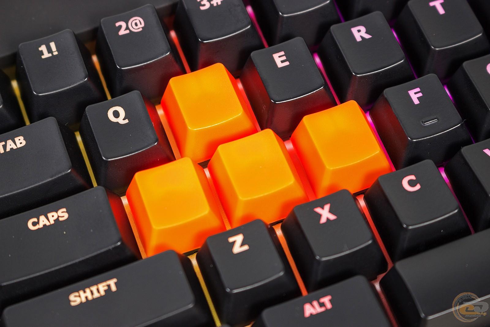 ASUS Cerberus Mech RGB смена клавиш