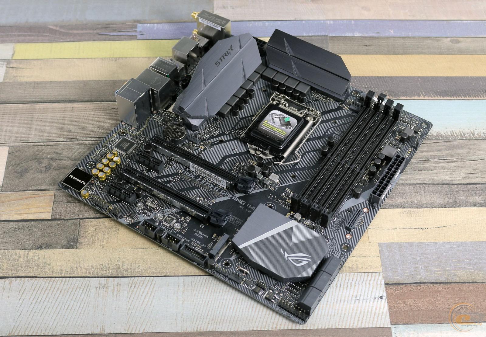 ROG STRIX Z370-G GAMING (Wi-Fi AC)