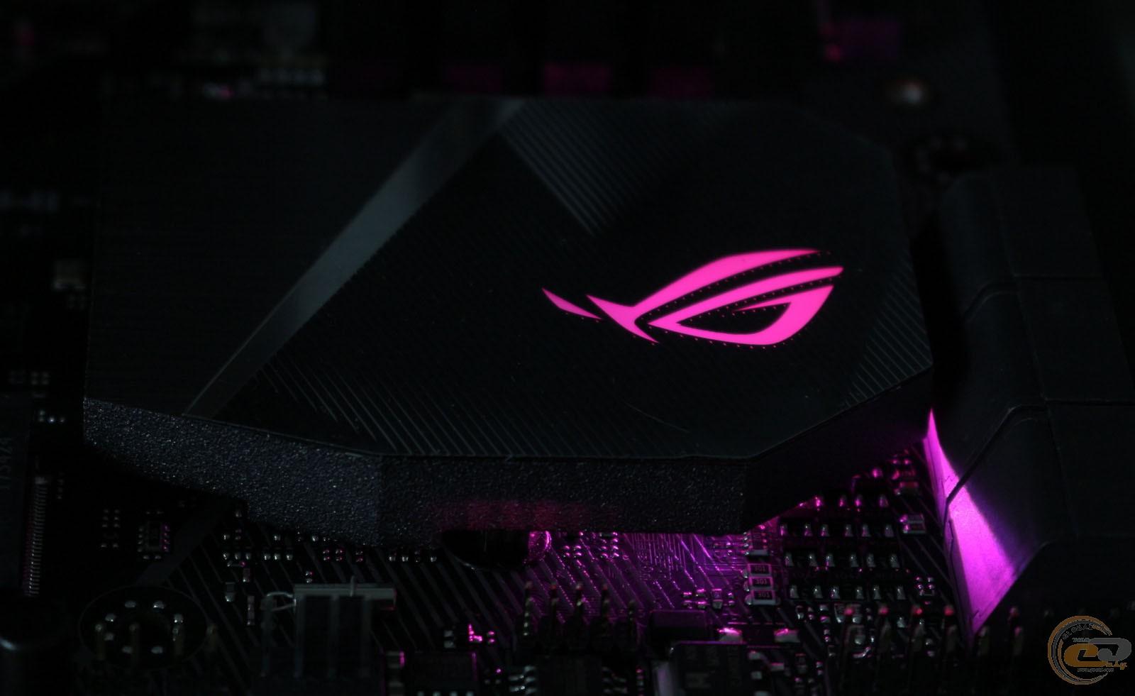 ROG STRIX Z370-G GAMING подсветка