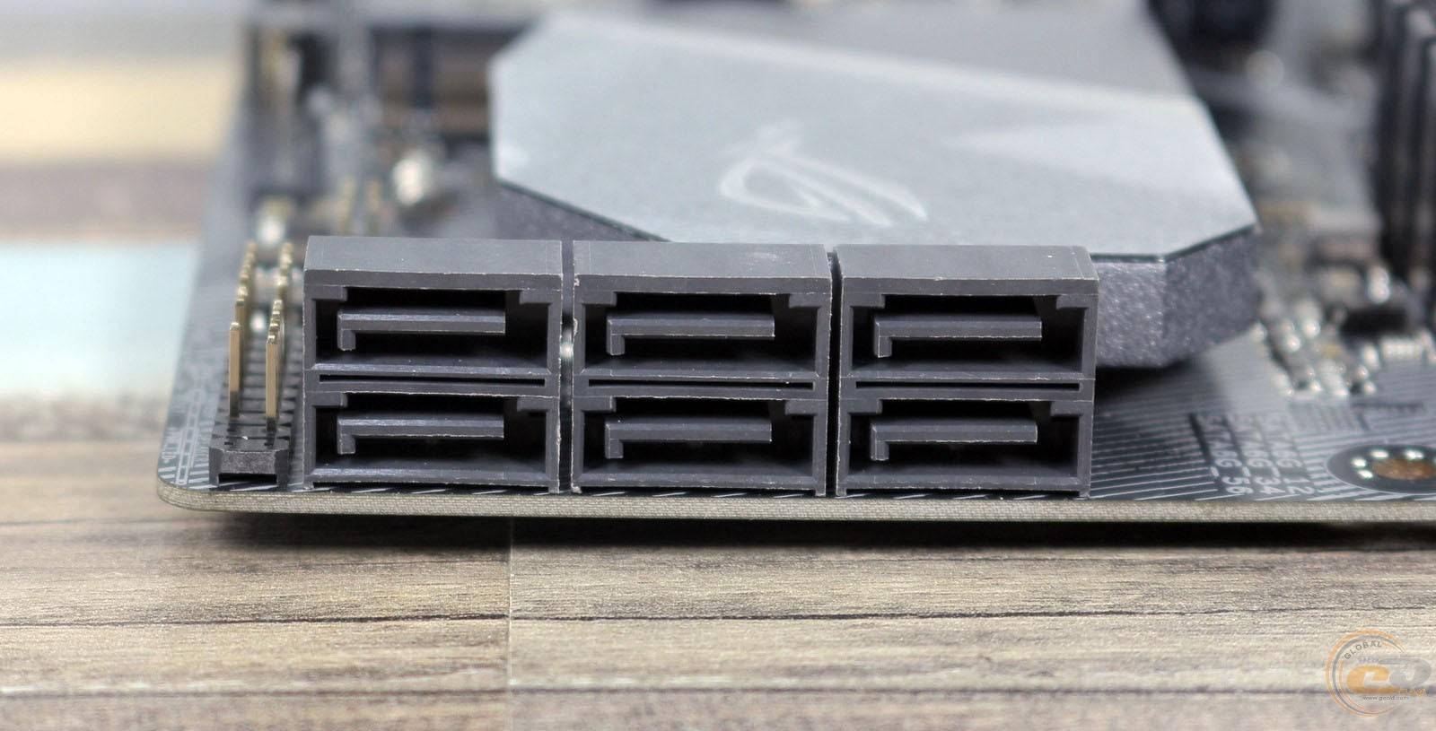 ROG STRIX Z370-G GAMING SATA разьемы
