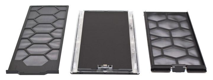 be quiet! Dark Base 700 пылевые фильтры и передняя панель