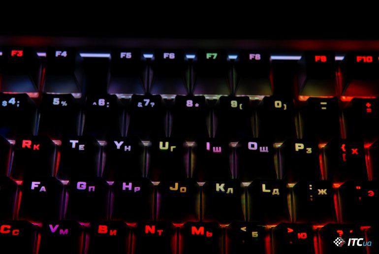 HyperX Alloy Elite RGB подсветка
