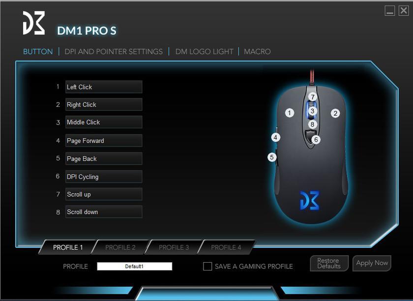Dream Machines DM1 Pro S ПО