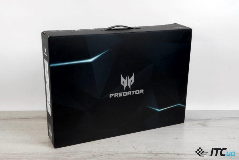 Acer Predator Triton 700 упаковка