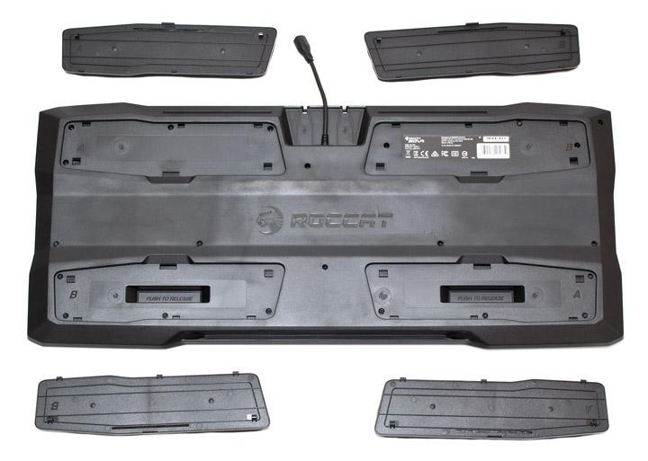 Roccat Sova сьемные накладки