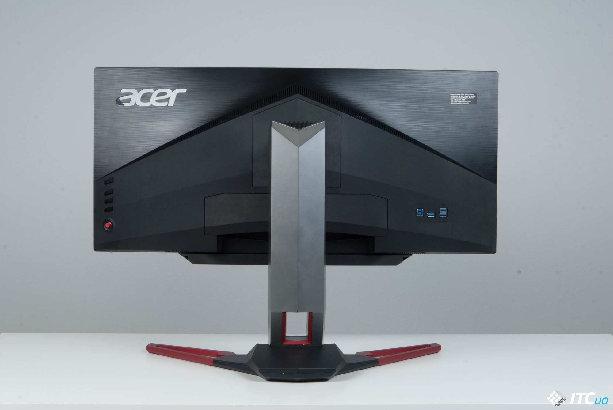 Acer Predator Z1 вид сзади