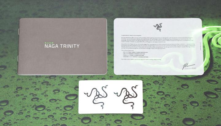 Razer Naga Trinity комплектация