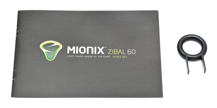 Mionix Zibal 60 комплектация