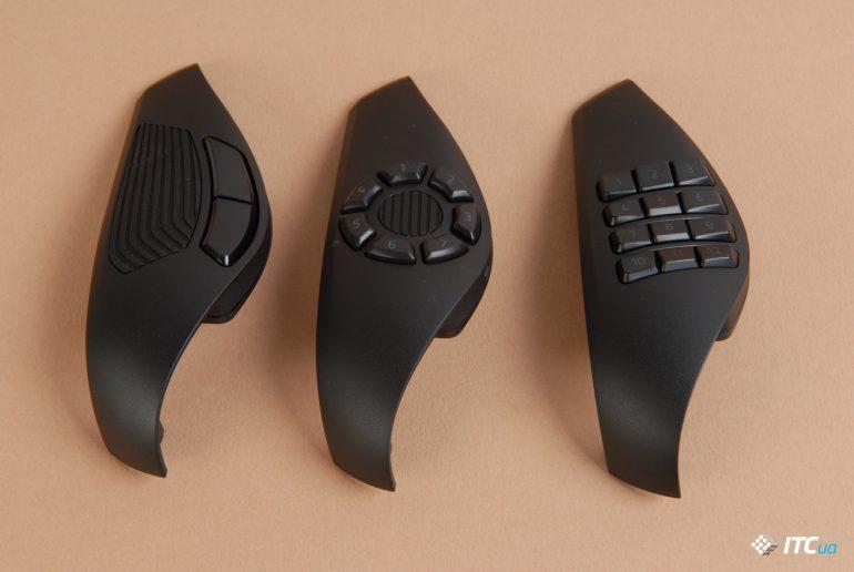 Razer Naga Trinity сменные панели