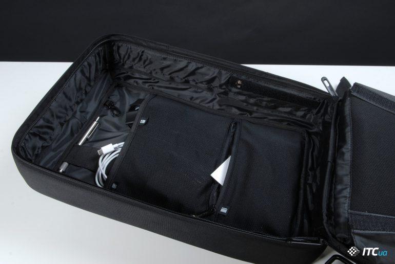 XD Design Bobby Bizz Anti-theft Backpack в расскрытом виде фото 2