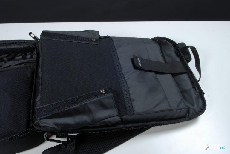 XD Design Bobby Bizz Anti-theft Backpack в расскрытом виде фото 3