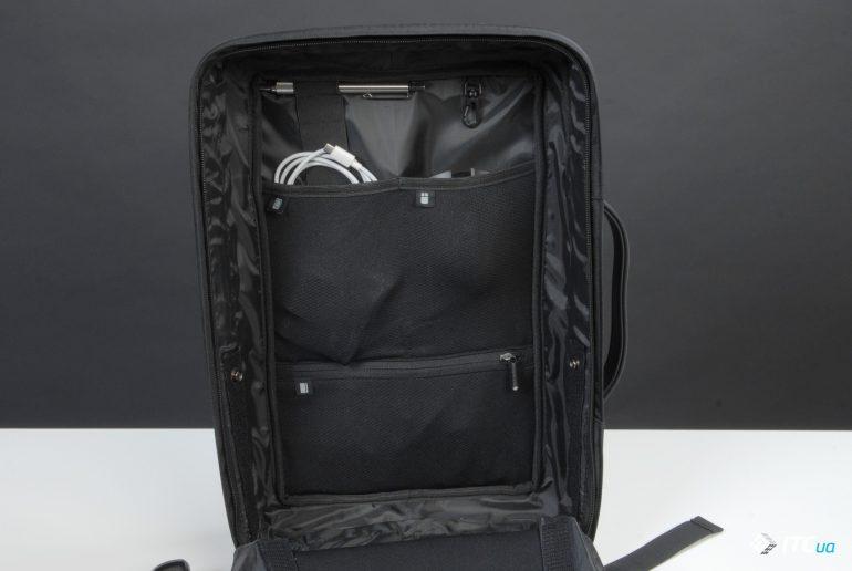 XD Design Bobby Bizz Anti-theft Backpack в расскрытом виде упакован фото 2