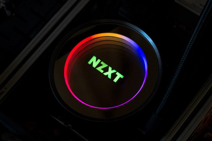 NZXT Kraken X62 подсветка