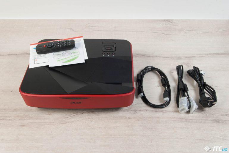 Acer Predator Z850 комплктация