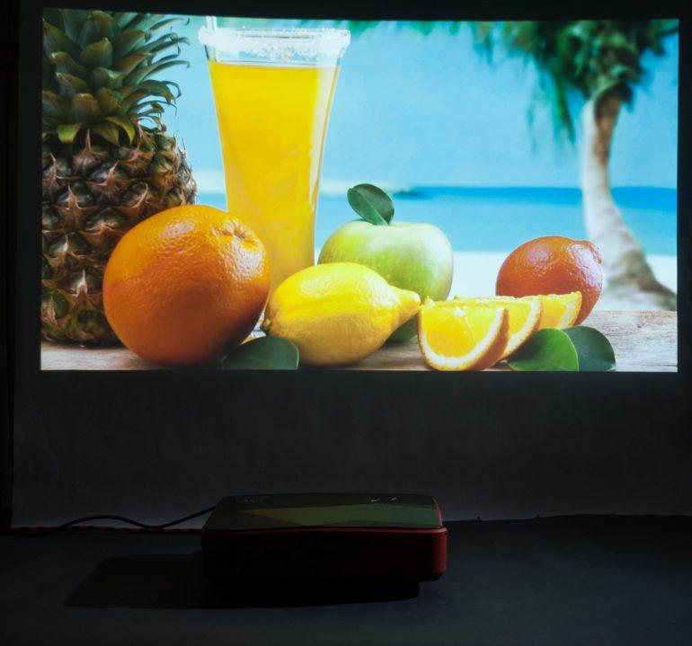 Acer Predator Z850 изображение с проектора 3