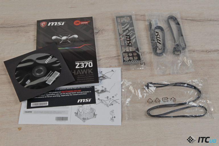 MSI Z370 TOMAHAWK комплектация