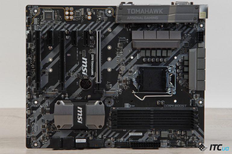 MSI Z370 TOMAHAWK разьемы PCI