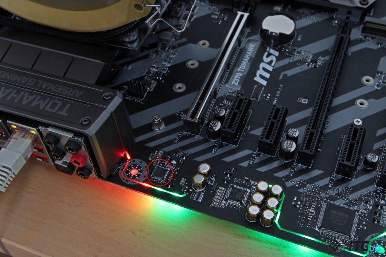 MSI Z370 TOMAHAWK гигабитный контроллер Intel i219-V