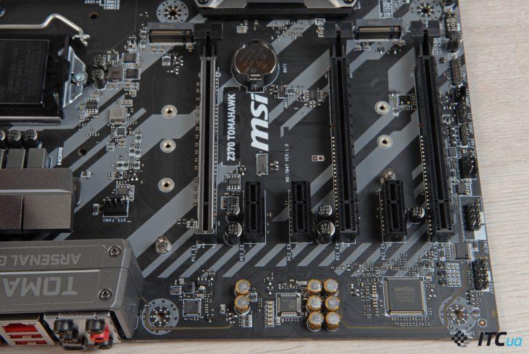 MSI Z370 TOMAHAWK 8-канальный чип Realtek ALC892