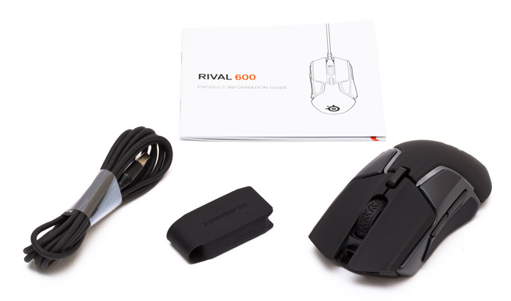 SteelSeries Rival 600 комплектация