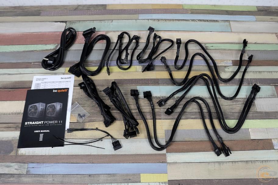 be quiet! Straight Power 11 модульные кабеля