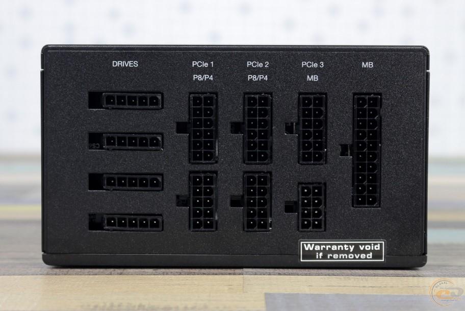be quiet! Straight Power 11 разьемы для кабелей