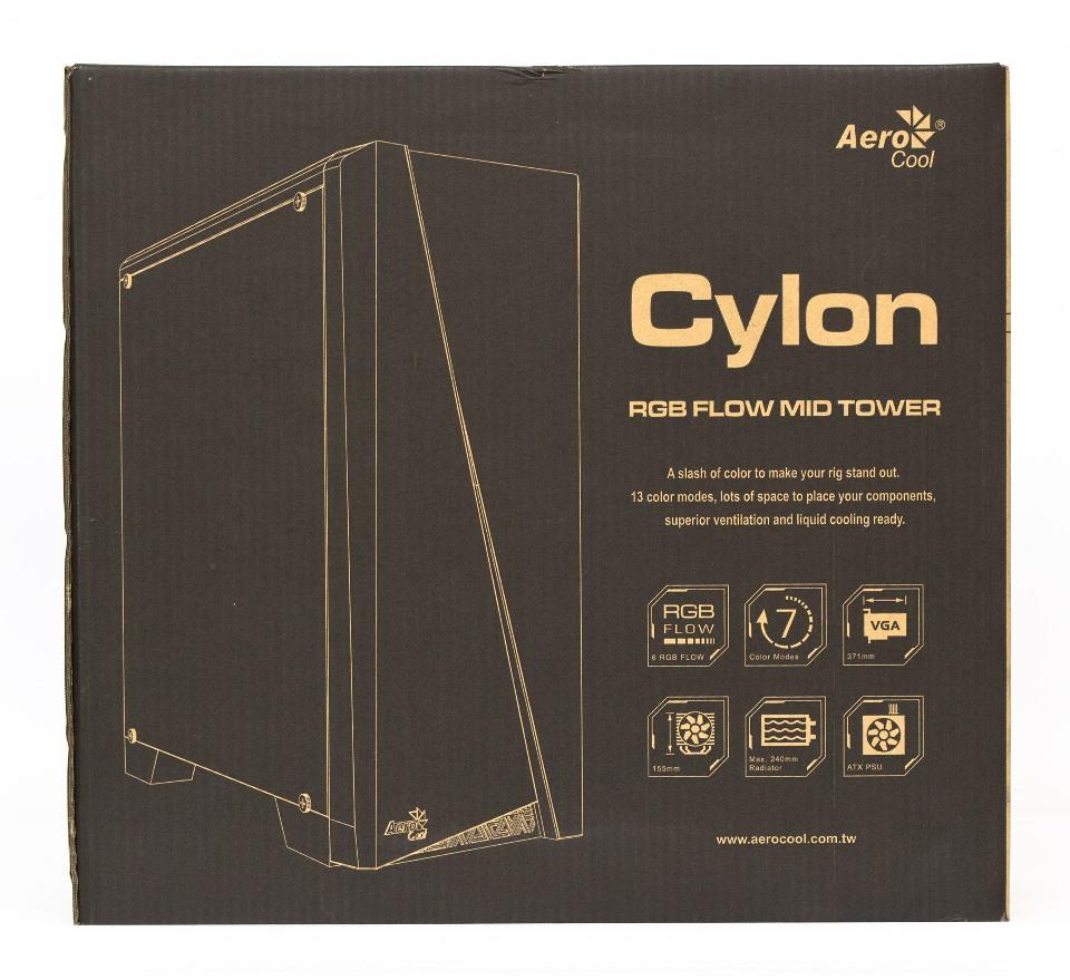 Aerocool Cylon упаковка