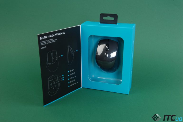 RAPOO MT550 упаковка