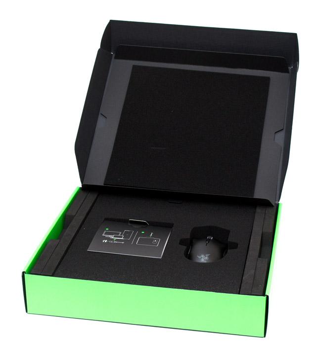 Razer Mamba HyperFlux упаковка внутри