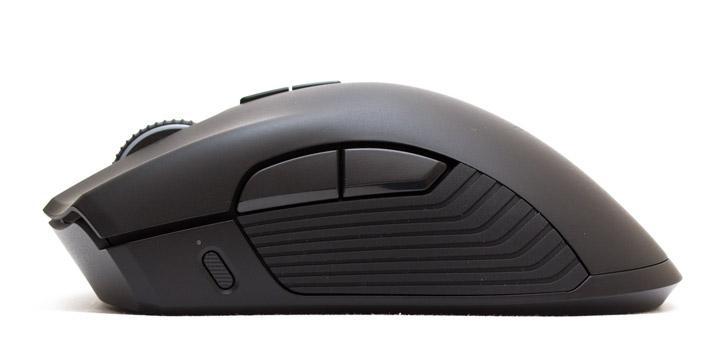 Razer Mamba HyperFlux мышь вид слева