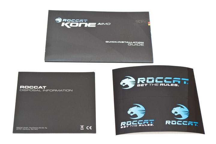 Roccat Kone AIMO комплектация