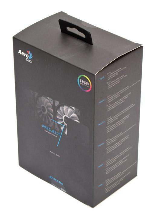 Aerocool P7-F12 Pro упаковка