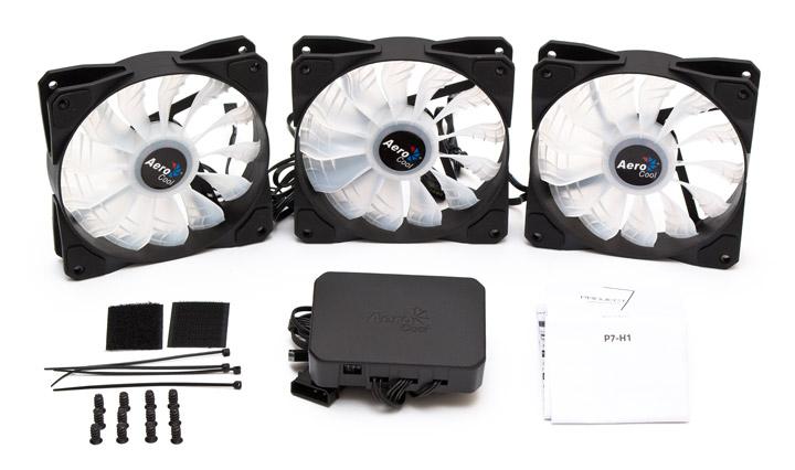 Aerocool P7-F12 Pro комплектация