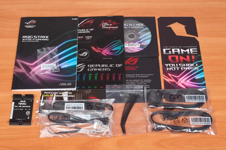 ASUS ROG Strix X470-F Gaming комплектация