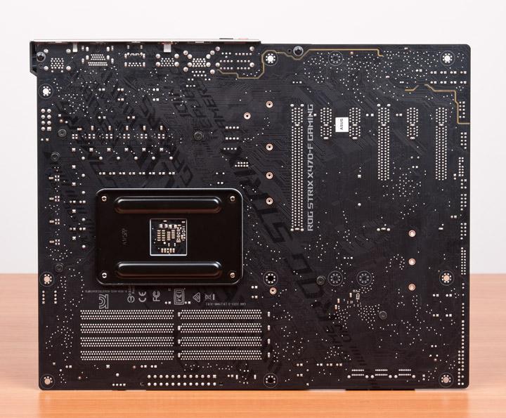 ASUS ROG Strix X470-F Gaming вид сзади