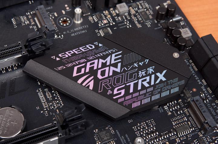 ASUS ROG Strix X470-F Gaming персональный модуль радиатора